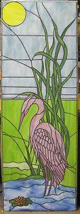 Tuerverglasung-Tiffany-034-Fischreiher-am-See-034