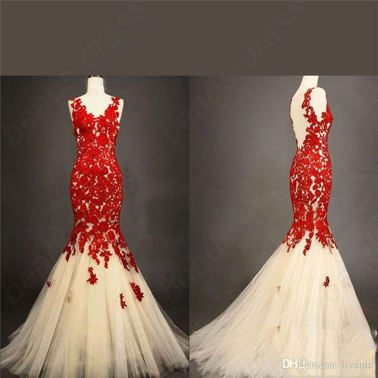 Red Lace Wedding Dress Wedding Dress Hong Kong Elegant Tb1 Vintage Lace Mermaid Wed Red Wedding Dresses Wedding Dresses Plus Size Lace Mermaid Wedding Dress