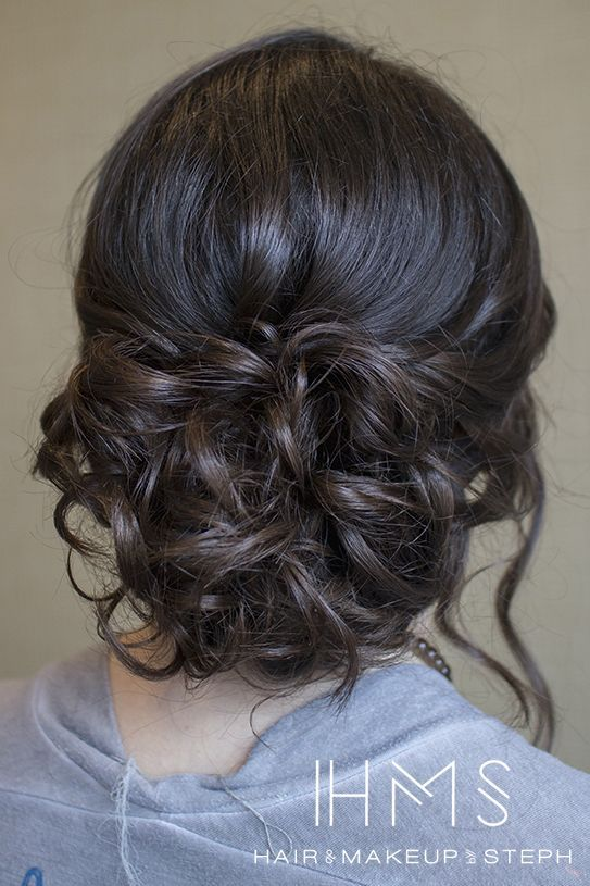 curly updo Women, Men and Kids Outfit Ideas on our website at 7ootd.com #ootd #7ootd