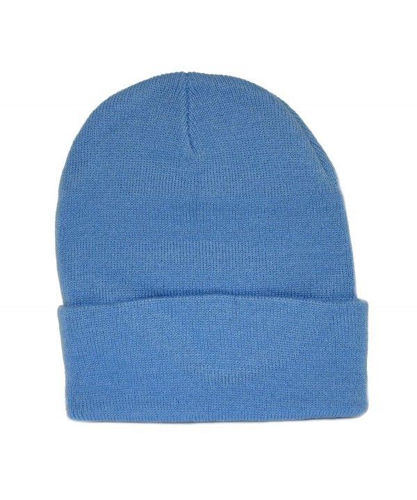b5e57740557 Sky Blue Long Beanie   Knit Ski Hat   Warm In Winter! CH110A1B6SP in ...
