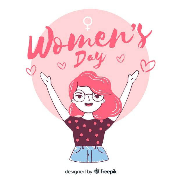 Download Hand Drawn Women S Day Background For Free Ladies Day How To Draw Hands Happy Woman Day