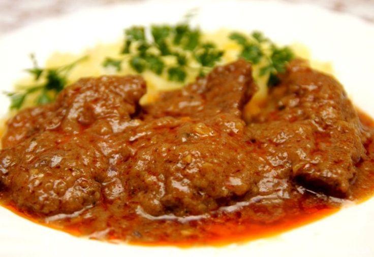 Hovädzie mäso v marináde