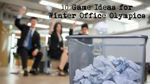 Looking for some fun and team building at work? Try these 10 Game Ideas for your Winter Office Olympics.