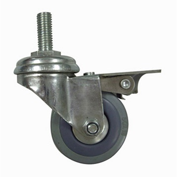 Roulette pivotante avec frein tige filet e pour - Roulette pour meuble avec frein ...