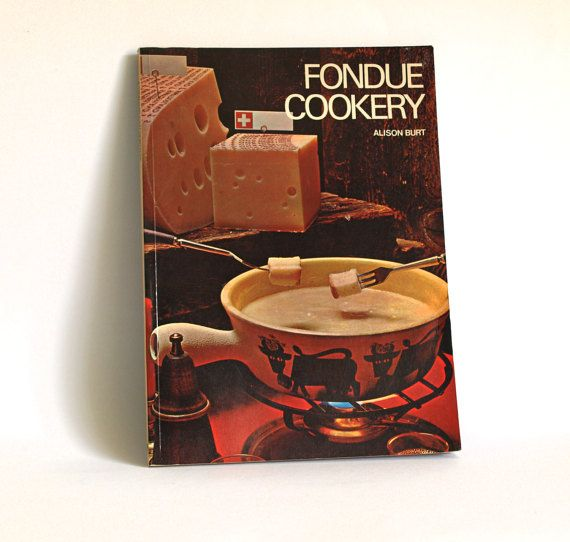 Fondue Cookery Cookbook  By Alison Burt  Vintage by FunkyKoala