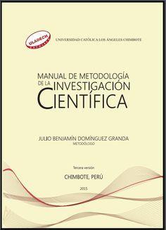 Manual de Metodología de la Investigación Científica – RedDOLAC - Red de Docentes de América Latina y del Caribe -