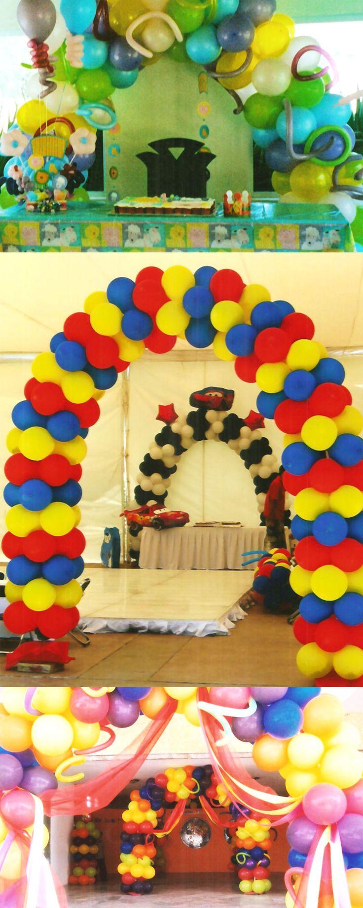 1000 images about arcos de globos on pinterest - Globos para fiestas ...