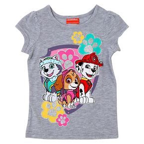 Toddler Girls' Paw Patrol T-Shirt - Grey