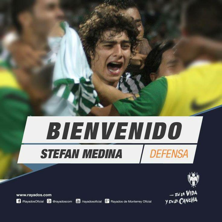 Stefan Medina, nuevo refuerzo de #Rayados para el Apertura 2014.