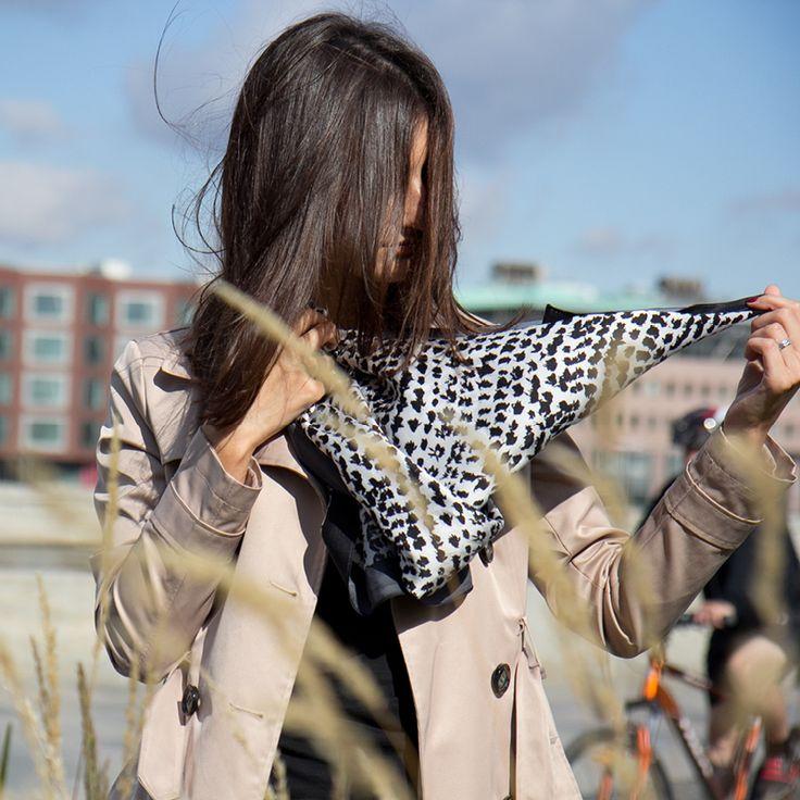 Silc scarf / style /accessory /Шелковый платок