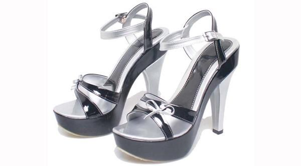 Sepatu sandal High Heels Girly Pink Cantik Terbaru Murah BSPS045