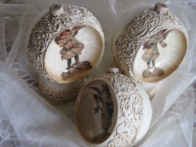 Pless-vintage: Bombki w wiktoriańskim stylu