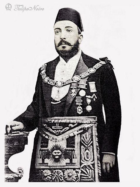 Khedive Tewfik Of Egypt (1852–1892) [B] - A Standing Portrait.