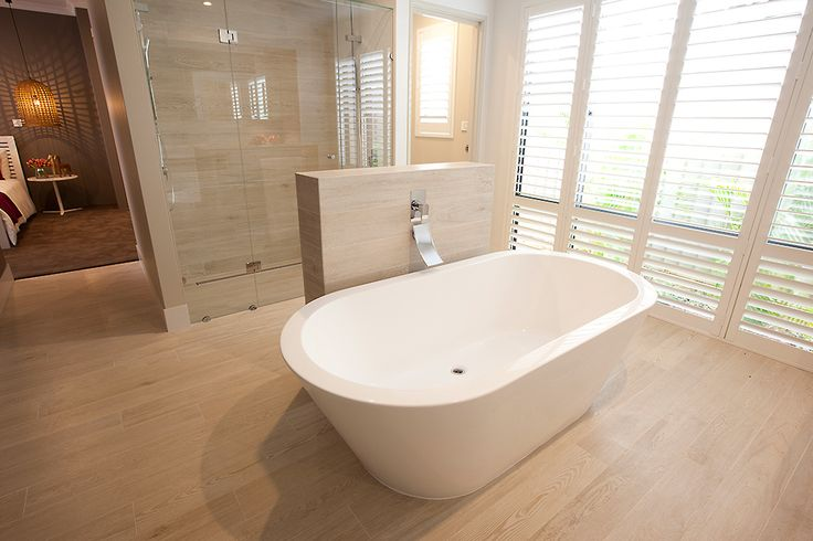 This amazing en-suite is part of the #LancasterPlatinum display home, only at #HomeGroupWA.