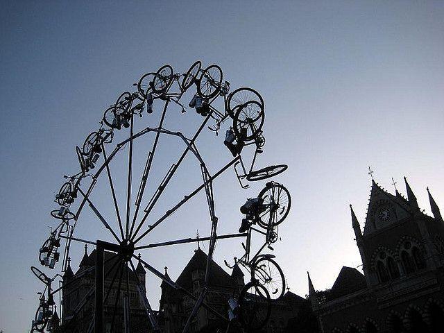 bicycle ferris wheel by payal.jhaveri, via Flickr