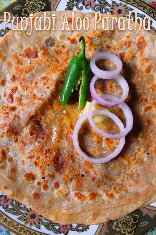 YUMMY TUMMY: Punjabi Aloo Paratha Recipe / Dhaba Style Aloo Paratha Recipe