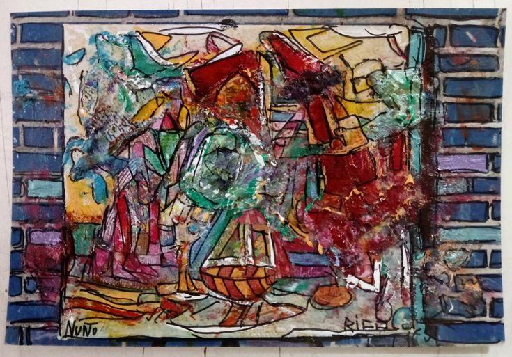 Pintado en el muro