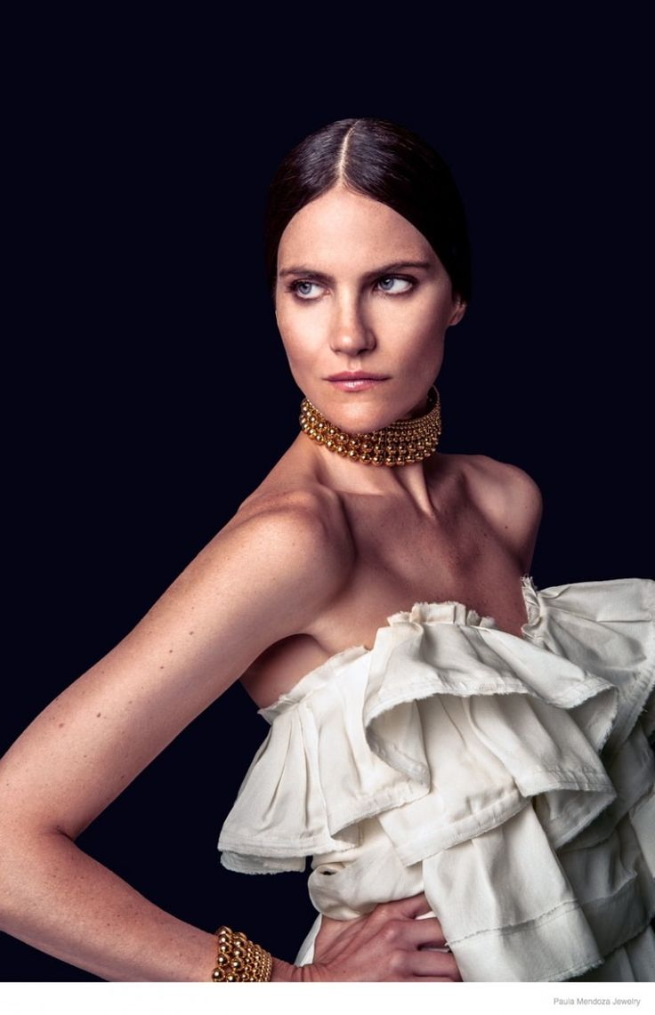 Missy Rayder Shines in Paula Mendozas Spring/Summer 2015 Jewelry Collection