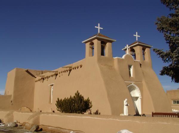 Image detail for -Ranchos de Taos, New Mexico: San Francisco de Asis Mission Church ...