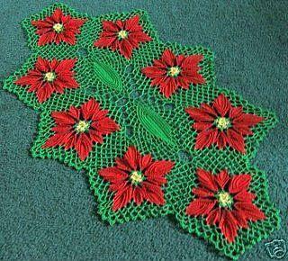 17 Best images about poinsettia crochet on Pinterest ...
