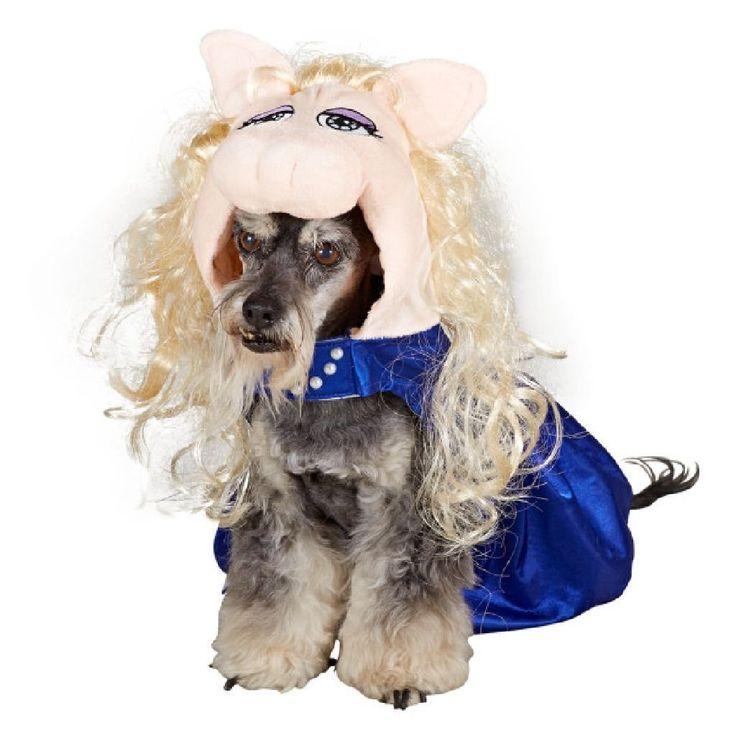 Disney - Muppets - Miss Piggy - Dress Up Dog Costume Large