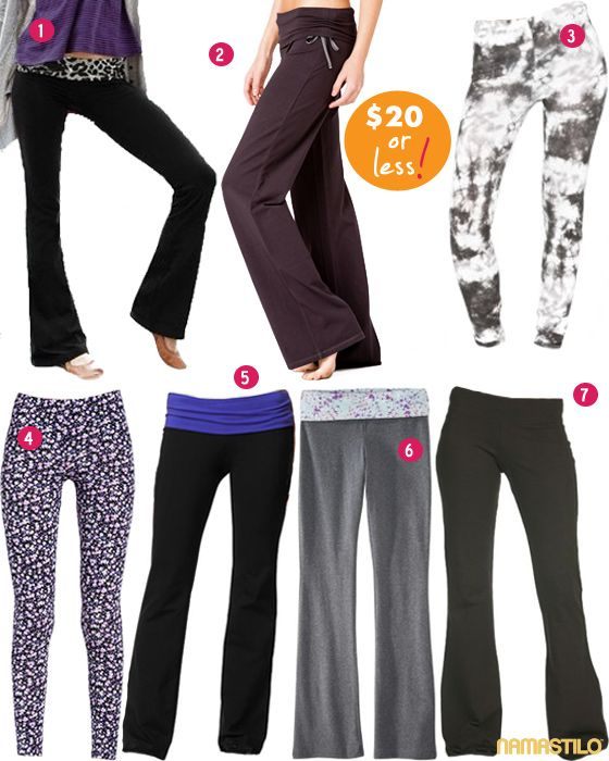 Cheapest Yoga Pants