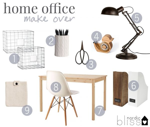 best 25+ scandinavian home office accessories ideas that you will