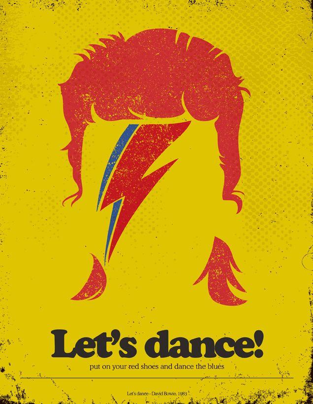 Minimalist Posters with Famous Lyrics on Behance