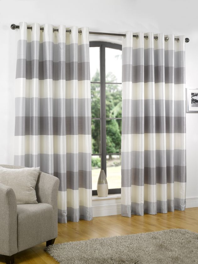 p with gray design modern funny striped grey curtains