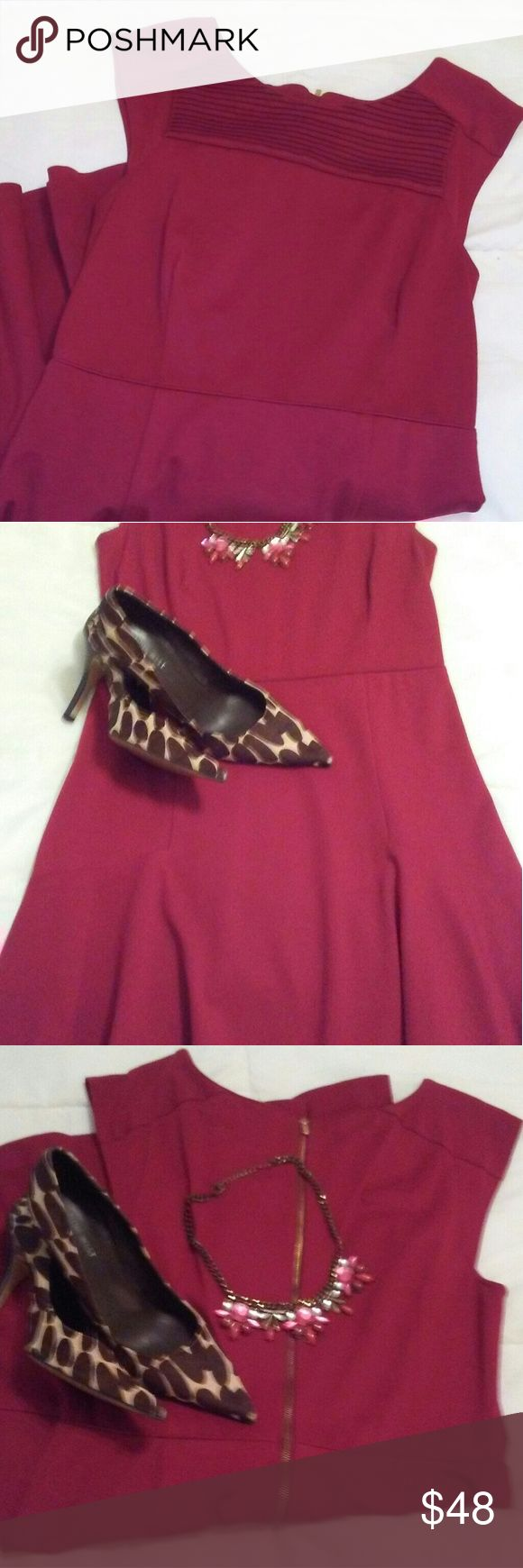 Accessorize a red dress yt