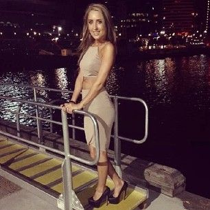 Sinead Ognen looking fabulous in the husk Belize Crop and Curved Hem Skirt #snap