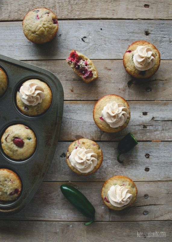 Cranberry Jalapeno Cornbread Muffins with Secret Ingredient Honey ...