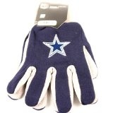 "Dallas Cowboys 2-Tone Jersey Gloves - Dallas Cowboys 2-Tone Jersey Gloves    Officially licensed merchandise  Dallas Cowboys 2-Tone Jersey Gloves          List Price: $  4.97    Price: [wpramaprice asin=""B002WGEVVY""]    [wpramareviews asin=""B002WGEVV"