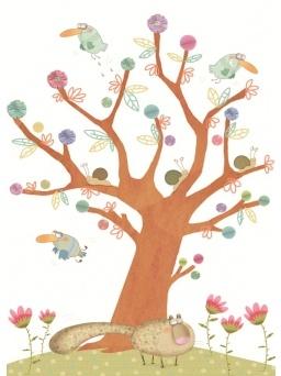 Ku-koo l'albero lo fai tu - Kit decorazioni primavera
