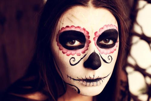 Day of The Dead Makeup: Easy to