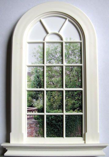 Transformative image inside dollhouse windows printable