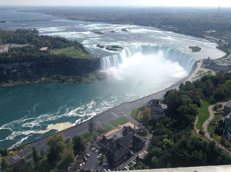 Niagara Falls Honeymoon Capital btw I took this photo from Tower elevator going up .
