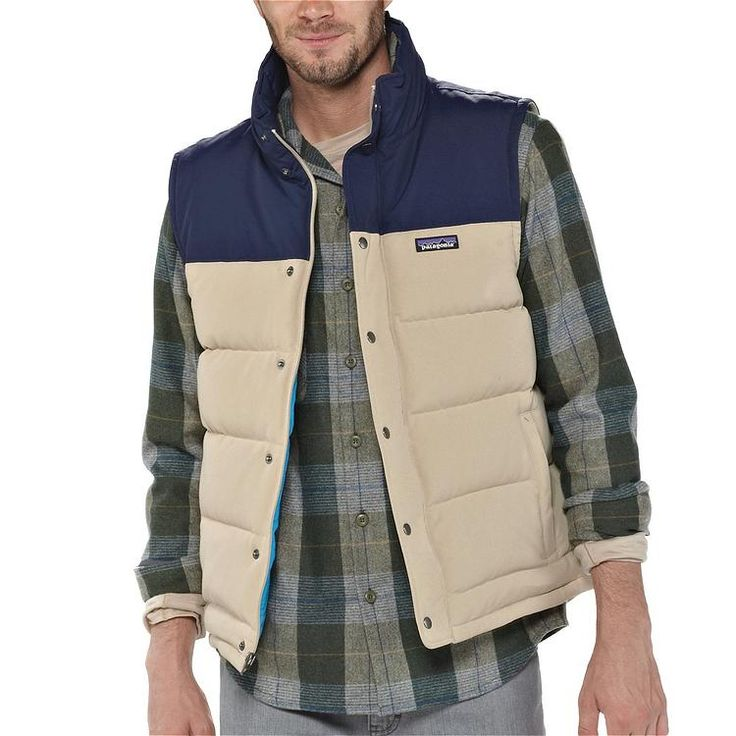 Patagonia Bivy Down Vest (100% Traceable Down)