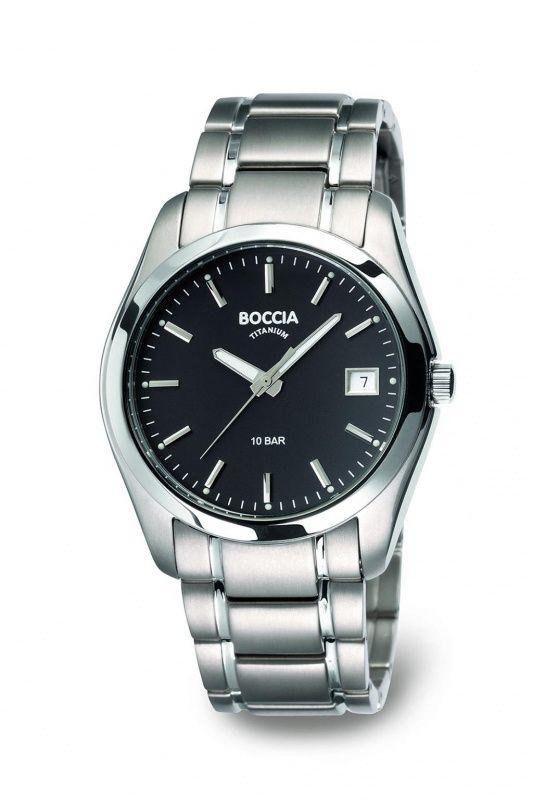 3548-04 - Boccia Titanium heren horloge