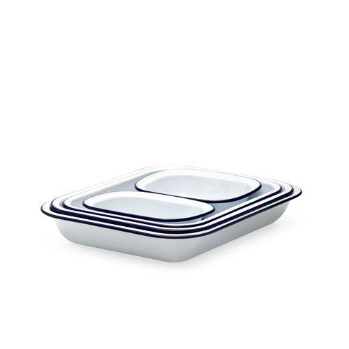 Falcon Enamel Baking Set 5pc White
