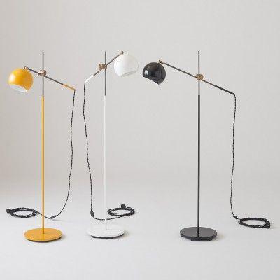 Studio Floor Lamp - Factory Black | Table + Floor Lamps | Lighting