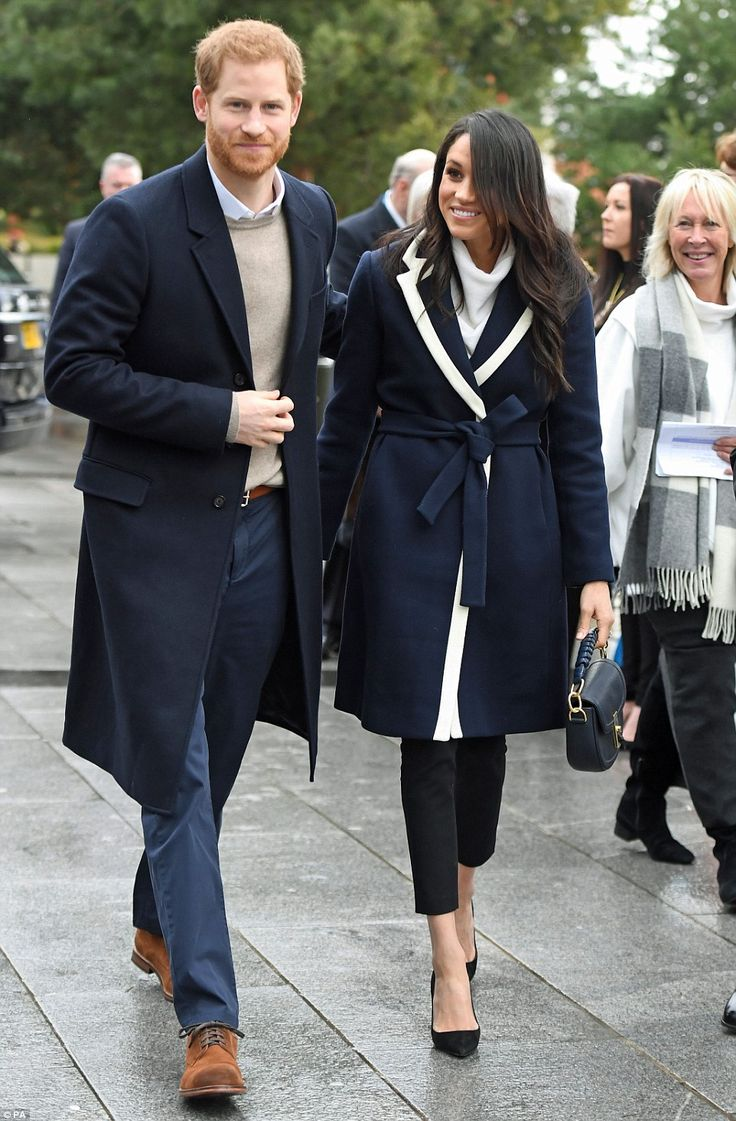 Harry and Meghan are on the latest leg in the regional tours the couple are undertaking in the run-up to their May wedding