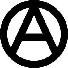 Símbolos anarquistas.