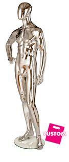 Custom chrome mannequin #shopforshops #custommannequins #chrome #custom #mannequins