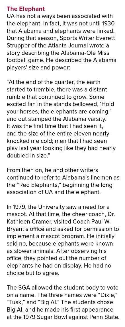the elephant story