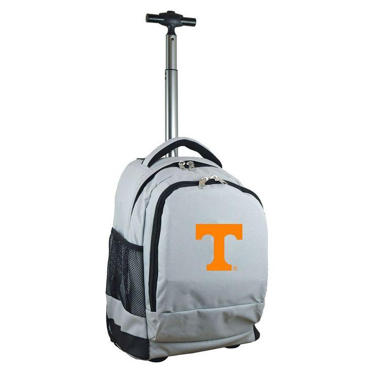 Tennessee Volunteers 19'' Premium Wheeled Backpack - Gray