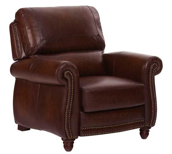 The Leather Italia Traditional Leather Pressback Recliner with Turned Wood Feet is the ultimate in luxury European styling.  sc 1 st  Pinterest & 16 best Chairs leather recliner images on Pinterest | Leather ... islam-shia.org