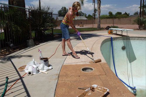 concrete staining | for the home | pinterest | concrete, patios