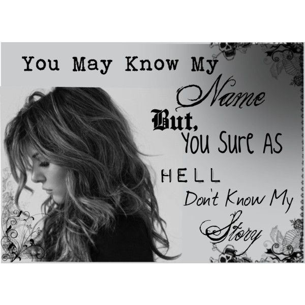 You Might Know My Name But Stuff I Like Quotes Me