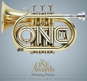 The ONE Awards Bütünleşik Pazarlama Ödülleri, itibar ve marka değer performans ölçümü araştırması alanında 8 Ocak 2016 da Marketing Türkiye gerçekleştirdi.